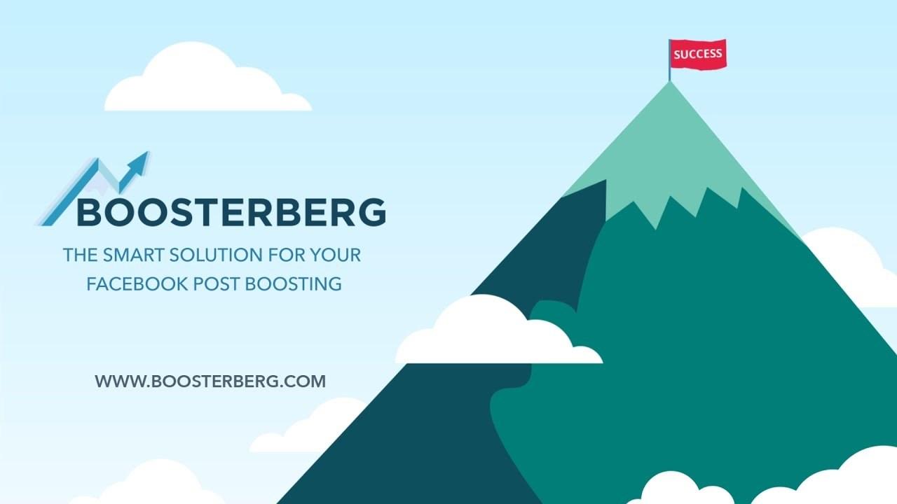 Boosterberg automaticky boostovac Facebook prispevkov